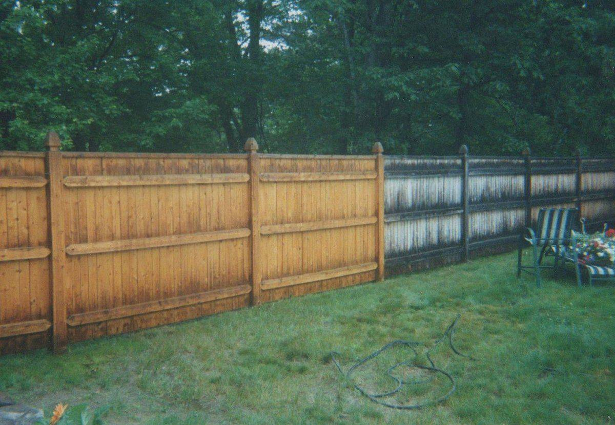 Fence Pressure Washing by ACME